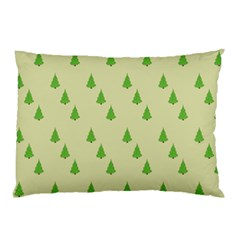 Christmas Wrapping Paper Pattern Pillow Case by Nexatart