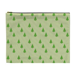 Christmas Wrapping Paper Pattern Cosmetic Bag (XL)