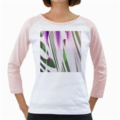 Colored Pattern Girly Raglans by Nexatart