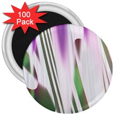 Colored Pattern 3  Magnets (100 Pack)