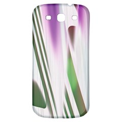 Colored Pattern Samsung Galaxy S3 S Iii Classic Hardshell Back Case by Nexatart