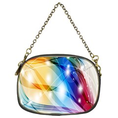 Colour Abstract Chain Purses (one Side)  by Nexatart