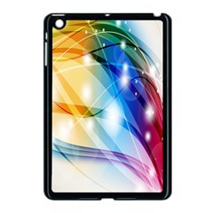 Colour Abstract Apple Ipad Mini Case (black) by Nexatart