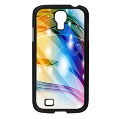 Colour Abstract Samsung Galaxy S4 I9500/ I9505 Case (black)