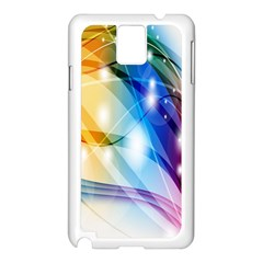 Colour Abstract Samsung Galaxy Note 3 N9005 Case (white) by Nexatart