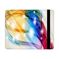 Colour Abstract Samsung Galaxy Tab Pro 8 4  Flip Case by Nexatart