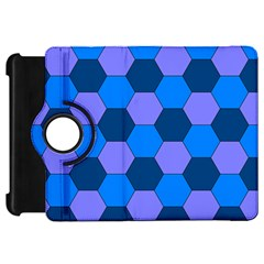 Four Colour Theorem Blue Grey Kindle Fire Hd 7  by Jojostore
