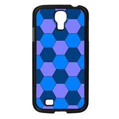 Four Colour Theorem Blue Grey Samsung Galaxy S4 I9500/ I9505 Case (black) by Jojostore