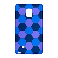 Four Colour Theorem Blue Grey Galaxy Note Edge by Jojostore