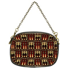 Egyptianpattern Colour Red Chain Purses (one Side)  by Jojostore