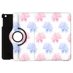 Flower Blue Pink Apple Ipad Mini Flip 360 Case by Jojostore