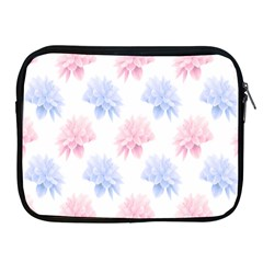 Flower Blue Pink Apple Ipad 2/3/4 Zipper Cases by Jojostore