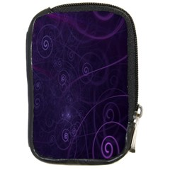 Purple Abstract Spiral Compact Camera Cases by Jojostore
