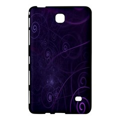 Purple Abstract Spiral Samsung Galaxy Tab 4 (7 ) Hardshell Case  by Jojostore