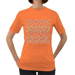 Splash Pattern Color Sign Women s Dark T Shirt by Jojostore