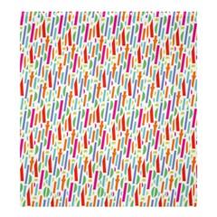 Splash Pattern Color Sign Shower Curtain 66  X 72  (large)  by Jojostore