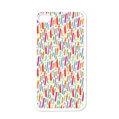 Splash Pattern Color Sign Apple Iphone 4 Case (white) by Jojostore