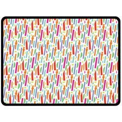 Splash Pattern Color Sign Double Sided Fleece Blanket (large)  by Jojostore
