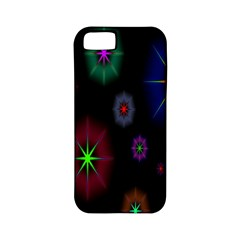 Star Circles Colorful Glitter Apple Iphone 5 Classic Hardshell Case (pc+silicone) by Jojostore