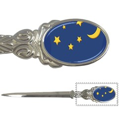 Starry Night Moon Letter Openers by Jojostore