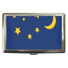 Starry Night Moon Cigarette Money Cases by Jojostore