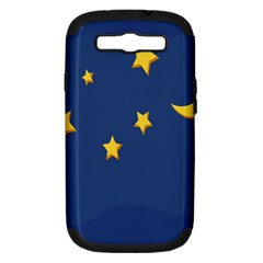 Starry Night Moon Samsung Galaxy S Iii Hardshell Case (pc+silicone) by Jojostore
