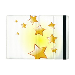 Star Gold Apple Ipad Mini Flip Case by Jojostore