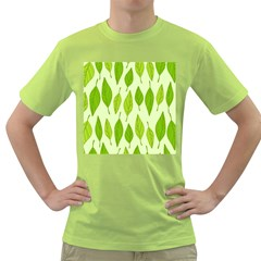 Spring Leaf Green Green T Shirt by Jojostore