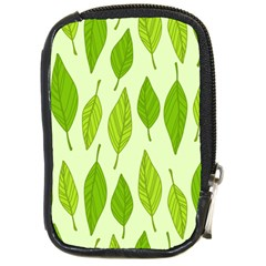 Spring Leaf Green Compact Camera Cases