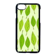 Spring Leaf Green Apple iPhone 7 Seamless Case (Black)