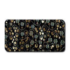 Clipart Chromatic Floral Gold Flower Medium Bar Mats by Jojostore