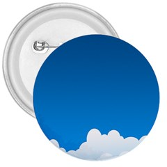 Clouds Illustration Blue Sky 3  Buttons by Jojostore