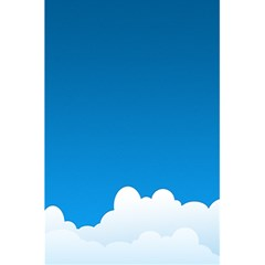 Clouds Illustration Blue Sky 5 5  X 8 5  Notebooks by Jojostore