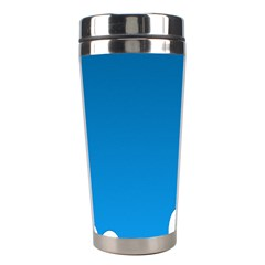 Clouds Illustration Blue Sky Stainless Steel Travel Tumblers by Jojostore