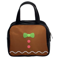 Stunning Gingerbread Brown Bread Classic Handbags (2 Sides)