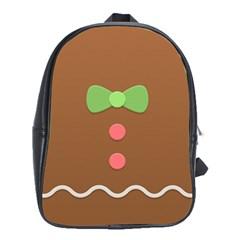 Stunning Gingerbread Brown Bread School Bags (xl)  by Jojostore