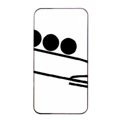 Bobsleigh Pictogram Apple Iphone 4/4s Seamless Case (black) by abbeyz71