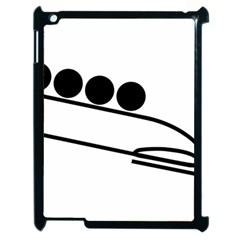 Bobsleigh Pictogram Apple Ipad 2 Case (black) by abbeyz71