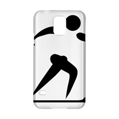 Cross Country Skiing Pictogram Samsung Galaxy S5 Hardshell Case