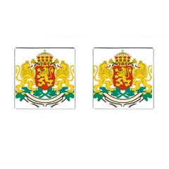 Coat of Arms of Bulgaria Cufflinks (Square) by abbeyz71