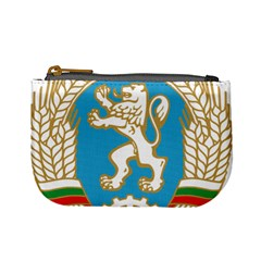 Coat Of Arms Of Bulgaria (1971 1990) Mini Coin Purses by abbeyz71