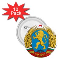 Coat Of Arms Of Bulgaria (1948 1968) 1 75  Buttons (10 Pack) by abbeyz71