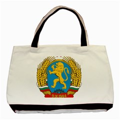 Coat Of Arms Of Bulgaria (1948 1968) Basic Tote Bag (two Sides) by abbeyz71