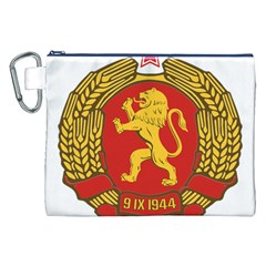Coat Of Arms Of Bulgaria (1948) Canvas Cosmetic Bag (xxl) by abbeyz71
