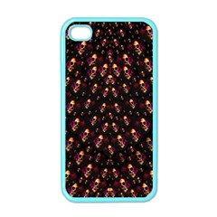 Skulls In The Dark Night Apple Iphone 4 Case (color) by pepitasart
