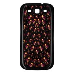 Skulls In The Dark Night Samsung Galaxy S3 Back Case (black) by pepitasart