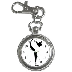 Figure Skating Pictogram Key Chain Watches by abbeyz71
