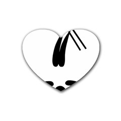Freestyle Skiing Pictogram Heart Coaster (4 Pack)  by abbeyz71