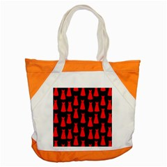 Dresses Seamless Pattern Accent Tote Bag by Nexatart