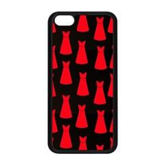 Dresses Seamless Pattern Apple Iphone 5c Seamless Case (black)